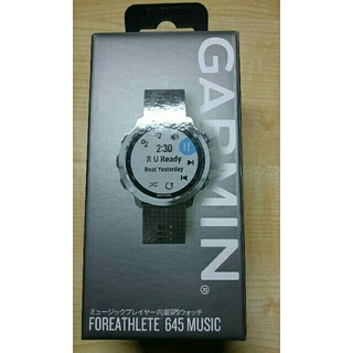 GARMIN - GARMIN Foreathlete 645 MUSIC Black 新品未使用