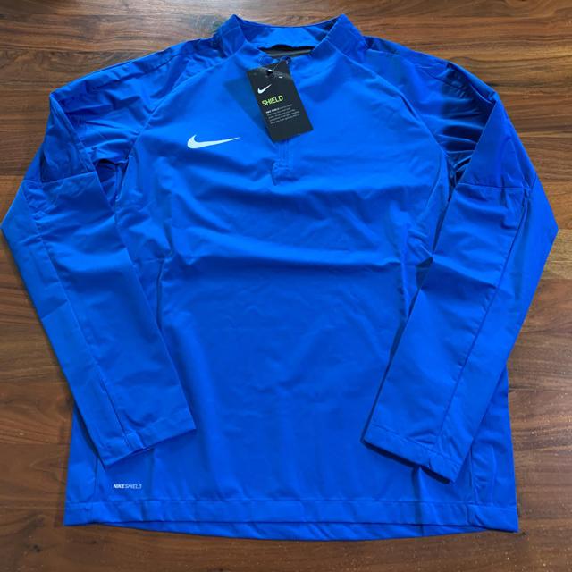NIKE(ナイキ)のジュニア YTH SQUAD 17 長袖ドリルトップ ロイヤルブルー 160cm スポーツ/アウトドアのサッカー/フットサル(ウェア)の商品写真