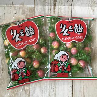 ♡北海道限定♡りんご飴♡2袋セット♡飴谷製菓♡懐かし飴♡あめ♡アメ♡