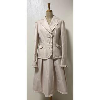トゥービーシック(TO BE CHIC)のTO BE CHIC 卒園 入園 スカートスーツ ピンク サイズ42(スーツ)