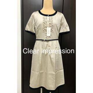 CLEAR IMPRESSION - Clear lmpression ワンピース☆未使用品