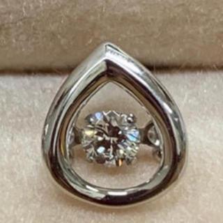 ダイヤモンド プラチナダンシングピアス