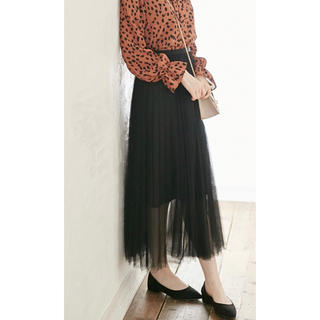 GRL - チュール スカート ブラック
