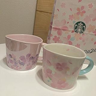 Starbucks Coffee - スターバックス SAKURA2020マグ 355ml ペア