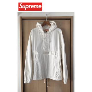 Supreme - Supreme Contrast Stitch Twill Pullover