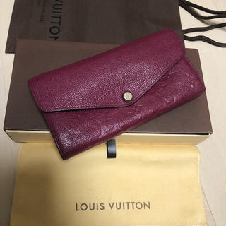 LOUIS VUITTON - 美品 正規品 ルイヴィトン モノグラム アンプラント 長財布