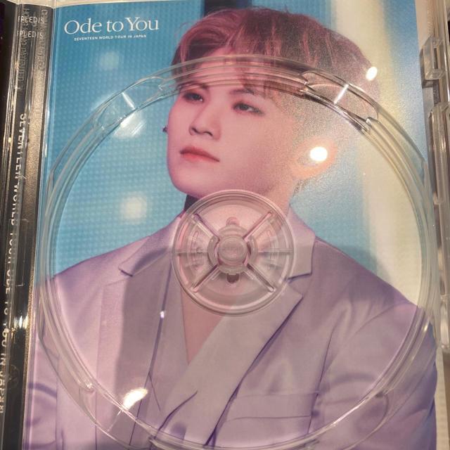 SEVENTEEN(セブンティーン)のウジ ジャケットシート+DVD チケットの音楽(男性アイドル)の商品写真