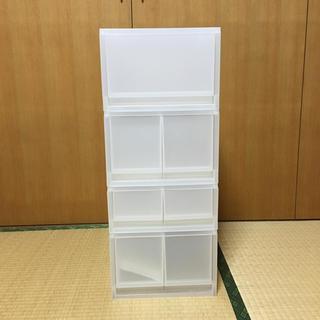 ムジルシリョウヒン(MUJI (無印良品))の無印良品 クリアケース(ケース/ボックス)