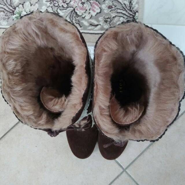 axes femme(アクシーズファム)のアクシーズ ボアブーツ Lサイズ レディースの靴/シューズ(ブーツ)の商品写真