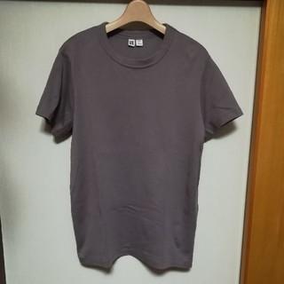 ユニクロ(UNIQLO)のUNIQLO U ユニクロユー パープル TシャツXXL(Tシャツ(半袖/袖なし))