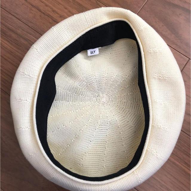 SLY(スライ)のスライサマーベレー帽 レディースの帽子(ハンチング/ベレー帽)の商品写真