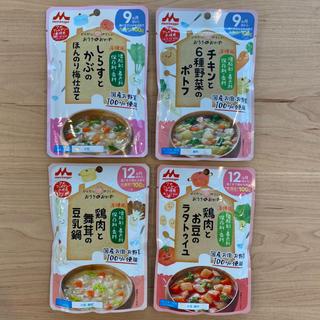 森永乳業 - ベビーフード【おうちのおかず】4点