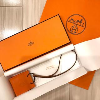 Hermes - 新品未使用❣️ エルメス HERMES 最新作 オレンジ ショッパー チャーム
