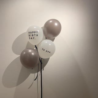 HAPPY BIRTHDAY ★ バースデーバルーン 誕生日 風船