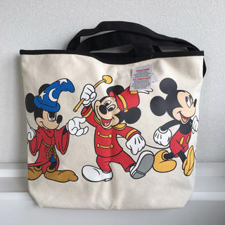 Disney - 新品タグ付き カリフォルニア ディズニー トートバッグ 歴代ミッキー