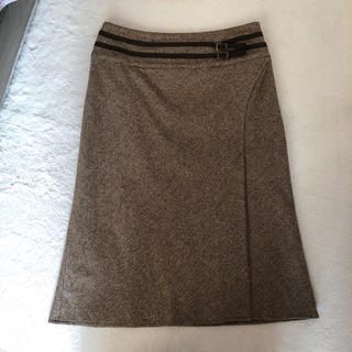 エル(ELLE)のELLE PARIS スカート(ひざ丈スカート)