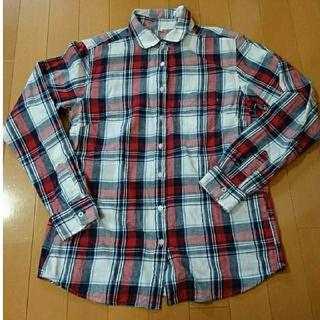 ネルシャツ 長袖 レディース Mサイズ(シャツ/ブラウス(長袖/七分))