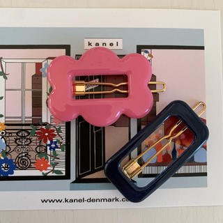 Ron Herman - kanel 新作フラワー&スクエアヘアピンセット