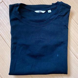 ユニクロ(UNIQLO)のユニクロ 半袖Tシャツ ブラック(Tシャツ(半袖/袖なし))