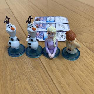 アナトユキノジョオウ(アナと雪の女王)のチョコエッグ【アナ雪】フィギュア4点セット(キャラクターグッズ)