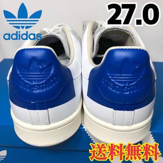 アディダス(adidas)の★新品★アディダス スタンスミス スニーカー ホワイト ブルー 27.0(スニーカー)