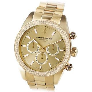 アヴァランチ(AVALANCHE)のavalanche クリスタルカーター 腕時計 (腕時計(アナログ))