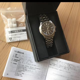 シチズン(CITIZEN)の【新品未使用】腕時計 CITIZUN 電波時計 メンズエコドライブ シチズン(その他)