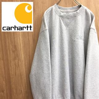 カーハート(carhartt)の【激レア】カーハート☆ワンポイント刺繍 ロゴ スウェット80-90s(スウェット)