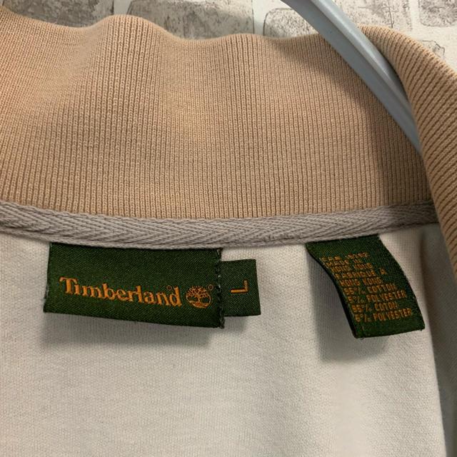 Timberland(ティンバーランド)の値下げ【秋色】Timberland ベージュ ブルゾン 軽アウター メンズのジャケット/アウター(ブルゾン)の商品写真