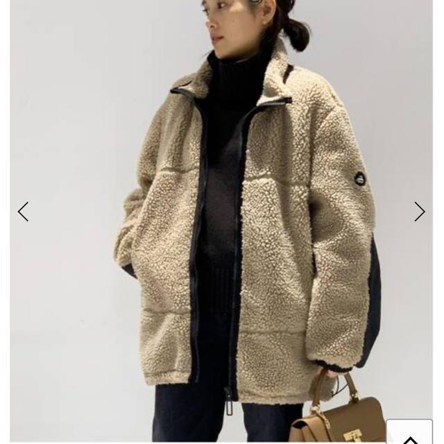 DEUXIEME CLASSE(ドゥーズィエムクラス)のYETI ボアブルゾン レディースのジャケット/アウター(ブルゾン)の商品写真