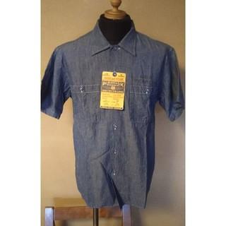 バズリクソンズ(Buzz Rickson's)のバズリクソンズ/ステンシル/シャンブレーワークシャツ/br38187(シャツ)