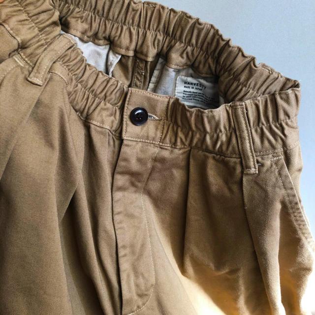 HARVESTY/チノクロス サーカスパンツ レディースのパンツ(カジュアルパンツ)の商品写真