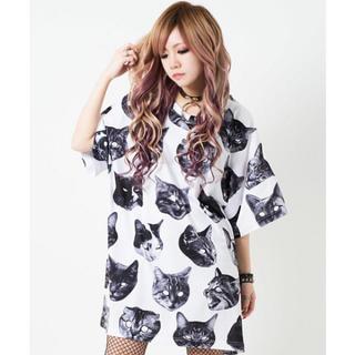 フーガ(FUGA)のTRAVAS TOKYO Cat Holic BIG Tee(Tシャツ/カットソー(半袖/袖なし))