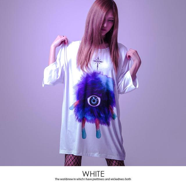 FUGA(フーガ)のTRAVAS TOKYO  One  eye  monster  ビッグTシャツ メンズのトップス(Tシャツ/カットソー(半袖/袖なし))の商品写真