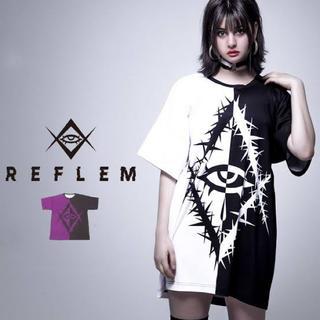 フーガ(FUGA)のREFLEM【レフレム】バイカラーアイズTシャツ(Tシャツ/カットソー(半袖/袖なし))