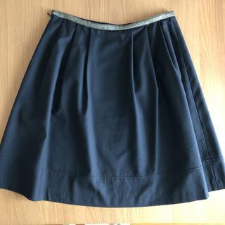 グリーンレーベルリラクシング(green label relaxing)のユナイテッドアローズ スカート 黒(ひざ丈スカート)