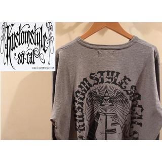 ヴァンズ(VANS)の[古着] Kustom style 西海岸系ストリート ロングTシャツ (Tシャツ(長袖/七分))