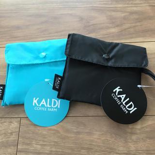 カルディ(KALDI)のカルディコーヒー エコバッグ 2個セット(日用品/生活雑貨)
