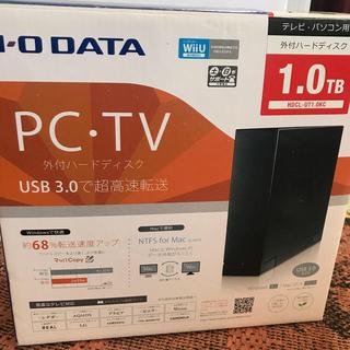 アイオーデータ(IODATA)のIO DATA 外付ハードディスク 1TB(DVDレコーダー)