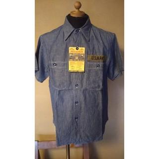 バズリクソンズ(Buzz Rickson's)のバズリクソンズ/ステンシル/シャンブレーワークシャツ/br38141(シャツ)