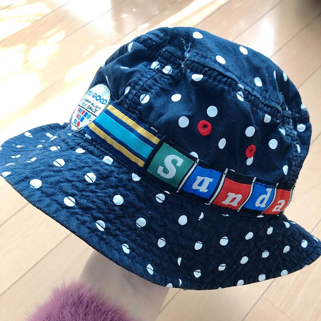 JUNK STORE(ジャンクストアー)の派手柄☆激安 キッズ/ベビー/マタニティのこども用ファッション小物(帽子)の商品写真