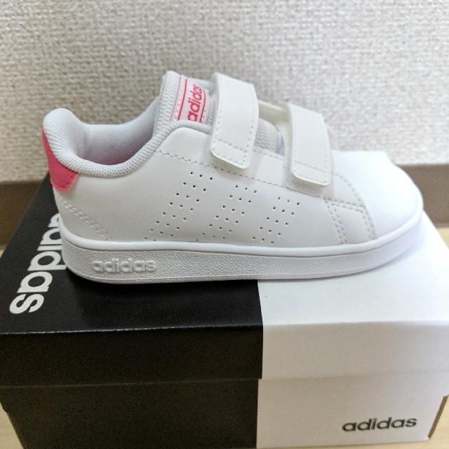adidas(アディダス)の新品未使用 アディダス スニーカー 14.5センチ キッズ/ベビー/マタニティのベビー靴/シューズ(~14cm)(スニーカー)の商品写真