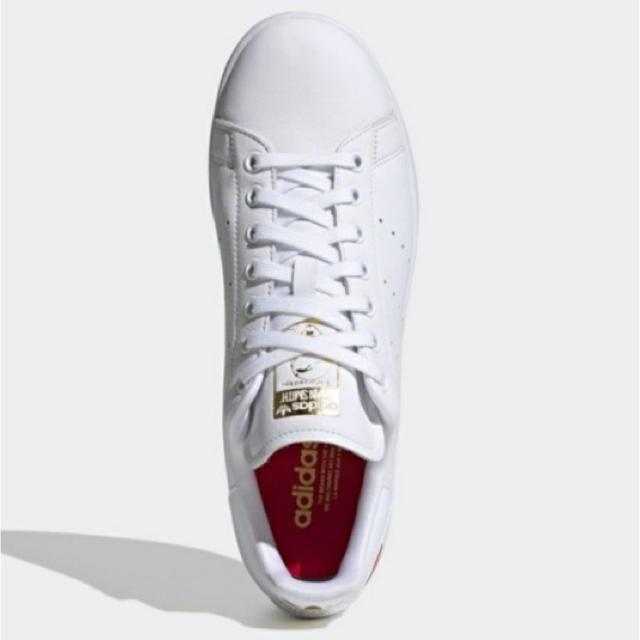 adidas(アディダス)の23.5 アディダスオリジナルスのスタンスミス ハート 白 ホワイト レディースの靴/シューズ(スニーカー)の商品写真