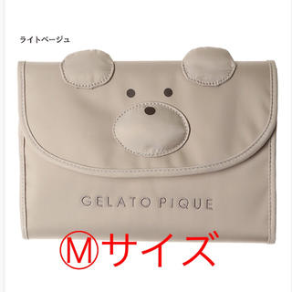 gelato pique - すごく可愛い ジェラートピケ 収納バッチリ Mサイズ 母子手帳ケース 新品