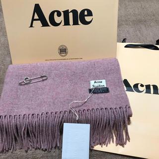 ACNE - 【超人気】AcneStudios大判アクネマフラー正規品