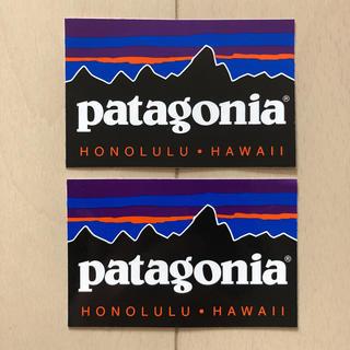patagonia - 2枚セット patagonia パタゴニア ハワイ ステッカー シール