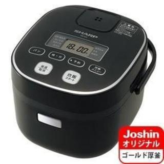 新品未開封品 SHARP マイコン炊飯器 3合炊き KS-IC5-B