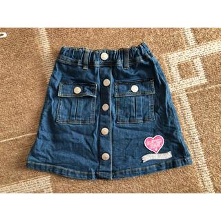 ジェニィ(JENNI)のみーわん様専用  JENNI デニムスカート size130(スカート)