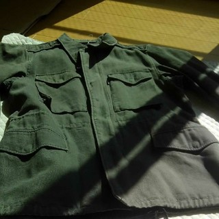 緑色スピワックジャケット