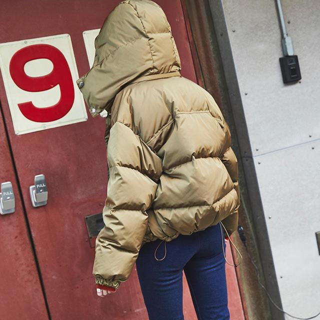 Higher Down Middle Coat レディースのジャケット/アウター(ダウンコート)の商品写真